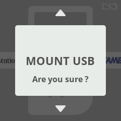 Mount USB Are you sure